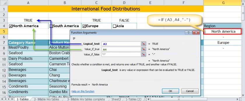 DSUM_Checkbox Function dialog