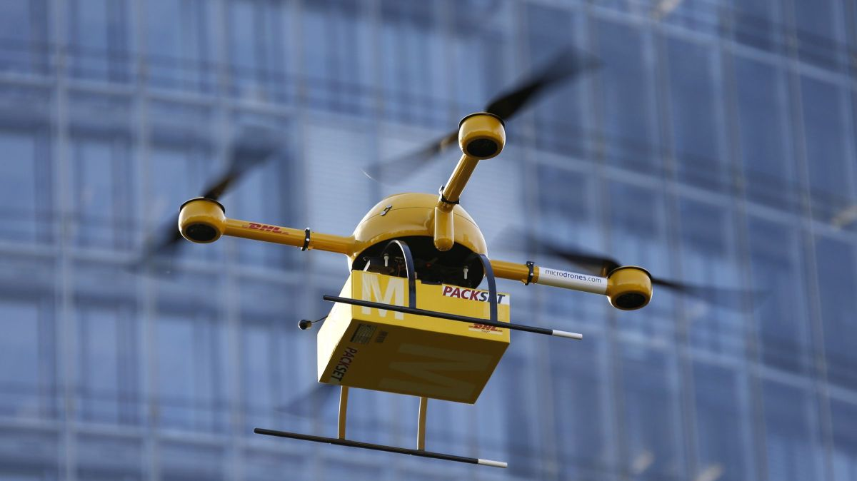 A revolutionary drone-based delivery network is being tested—in Bhutan