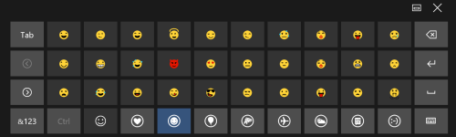 emojiKeyboard